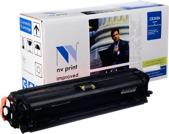 Картридж совместимый NV Print CE342A желтый для HP