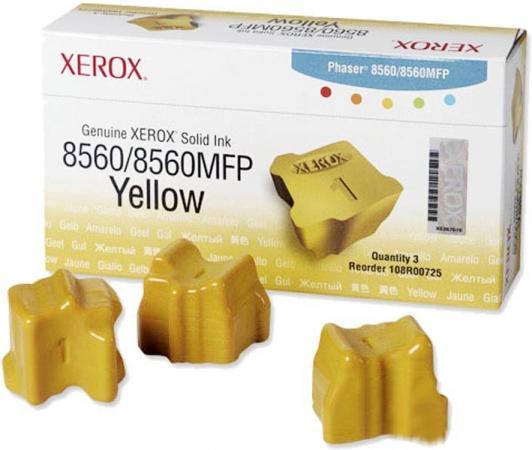 Твердые чернила Xerox 108R00766 желтый оригинальный 3 шт.
