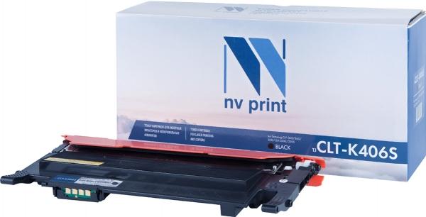Картридж совместимый NVPrint CLT-K406S для Samsung черный