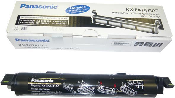 Тонер-картридж совместимый Fortuna KX-FAT411A7 для Panasonic