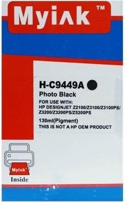 Картридж совместимый MyInk С9449А черный для HP