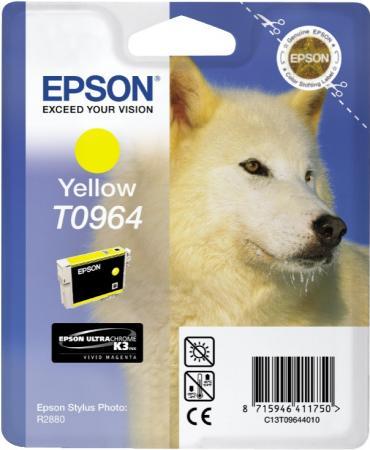 Картридж EPSON T09644010 желтый оригинальный