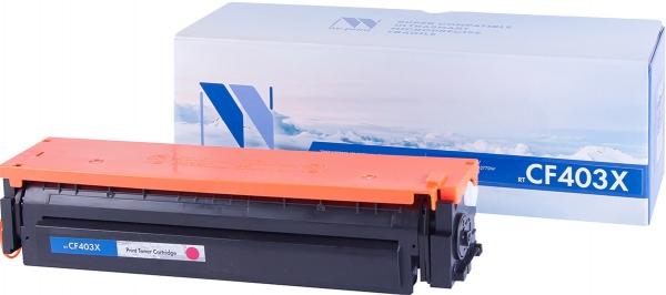 Картридж совместимый NVPrint CF403X для HP пурпурный