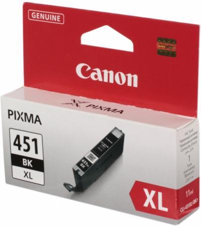 Картридж CANON CLI-451BK XL черный орининальный