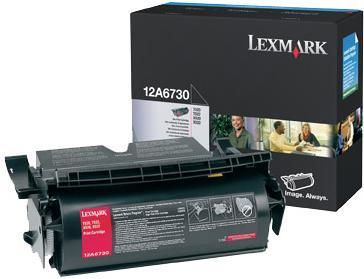 Картридж Lexmark 12A6730 черный оригинал