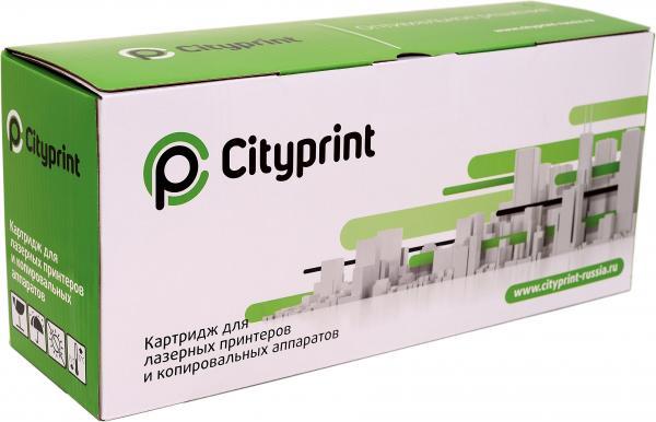 Картридж совместимый Cityprint CE741A голубой для HP