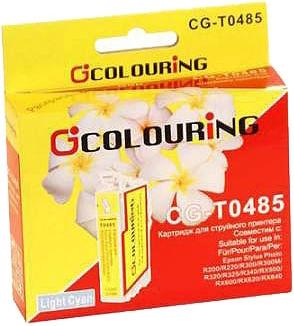 Картридж совместимый Colouring 48540 для Epson светло-голубой