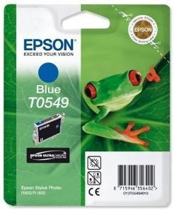 Картридж EPSON T054940 синий оригинальный