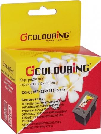 Картридж совместимый Colouring C8767HE №130 для HP черный