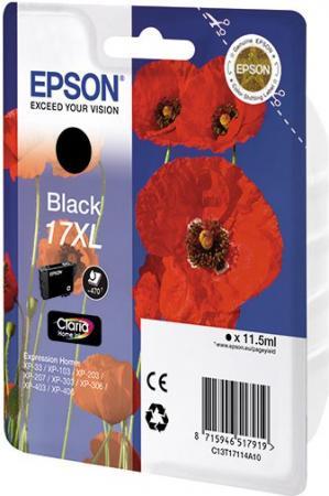 Картридж EPSON C13T17114A10 черный оригинальный