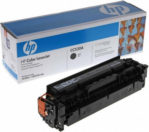 Картридж HP СС530А черный совместимый Uniton Eco