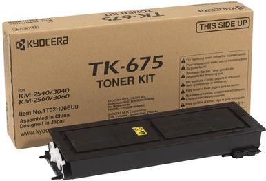 Картридж лазерный Kyocera TK-675 оригинальный
