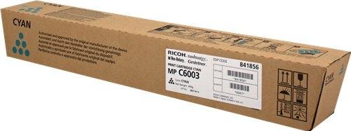 Тонер-картридж MPC6003 для Ricoh голубой