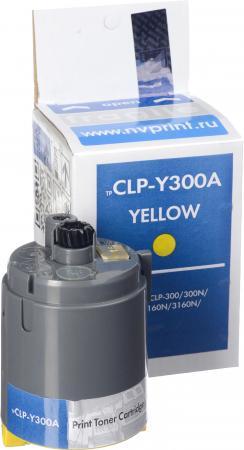 Тонер-картридж совместимый NV Print CLP-Y300A желтый для Samsung