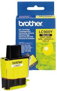 Картридж Brother LC900Y желтый оригинальный