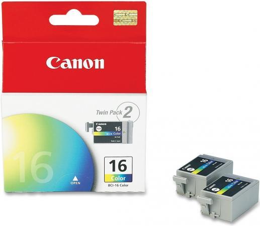 Картридж CANON BCI-16C трехцветный двойная упаковка оригинальный
