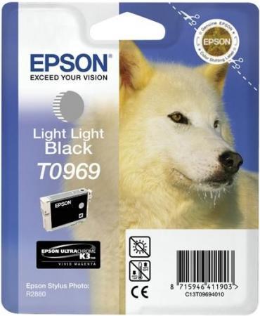 Картридж EPSON C13T09694010 светло-серый оригинальный