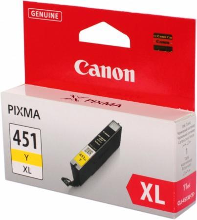 Картридж CANON CLI-451Y XL желтый оригинальный