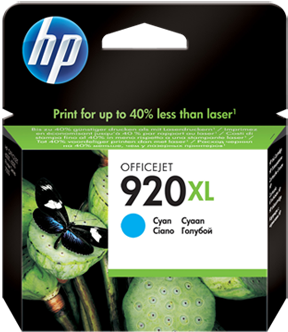 Картридж HP CD972AE голубой оригинальный