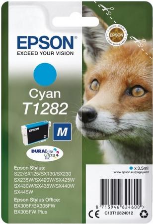 Картридж T12824012 для Epson голубой
