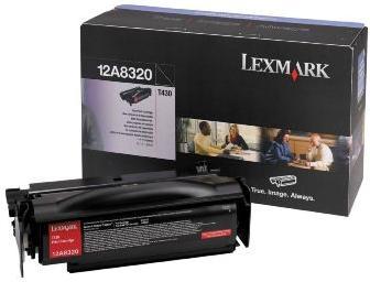 Картридж Lexmark 12A8320 черный оригинал