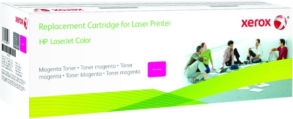 Картридж совместимый Xerox HVD CE743A для HP пурпурный