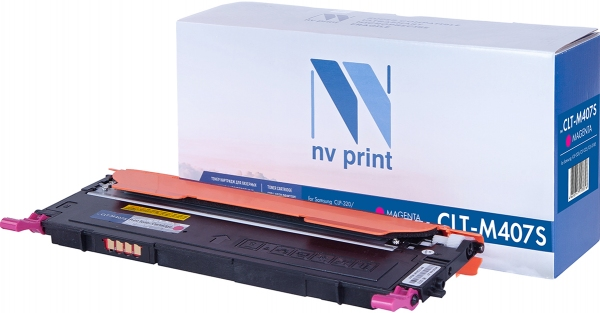 Картридж совместимый NVPrint CLT-M407S для Samsung пурпурный