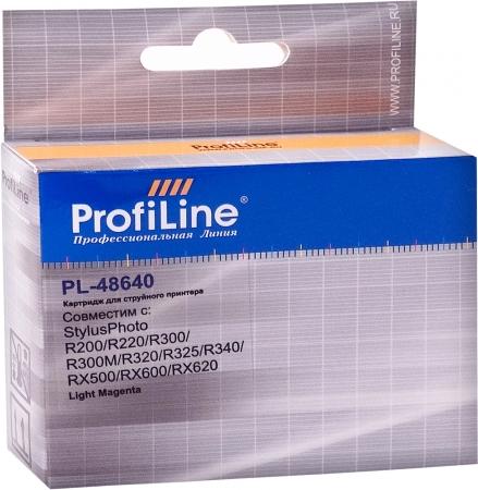 Картридж совместимый ProfiLine 48640 для Epson светло-пурпурный