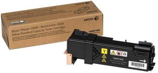 Картридж XEROX Phaser 106R01600 желтый оригинальный