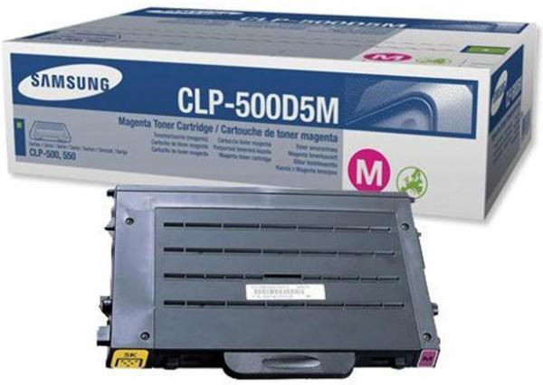 Тонер-Картридж SAMSUNG CLP-500D5M пурпурный оригинальный