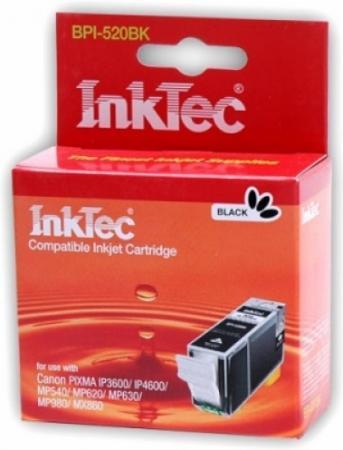 Картридж совместимый InkTec BPI-520BK (PGI-520PGBK) чёрный для Canon