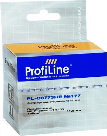 Картридж совместимый ProfiLine C8773HE №177 для HP желтый