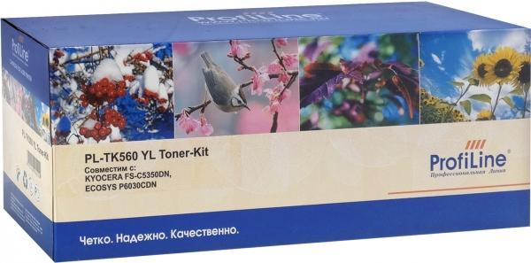 Тонер-кит Kyocera TK-560Y Yellow ProfiLine (совместимый)