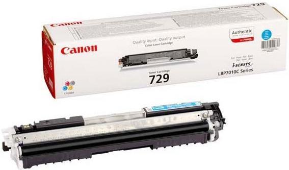 Картридж CANON 729C голубой оригинальный