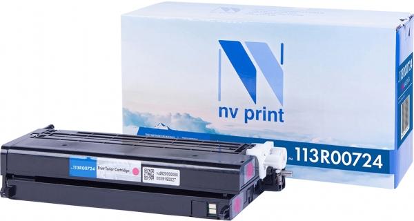Картридж совместимый NVPrint 113R00724 для Xerox пурпурный