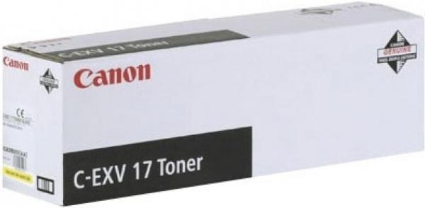 Картридж Canon C-EXV17Y/GPR-21 iRC 4080/4580/5180 желтый оригинальный