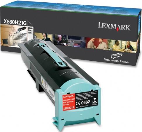 Тонер-картридж Lexmark X860H21G High Yield оригинальный