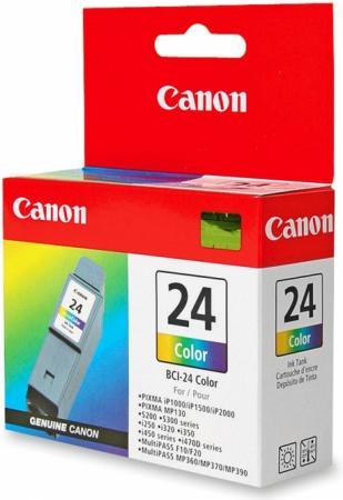 Картридж CANON BCI-24C трехцветный оригинальный