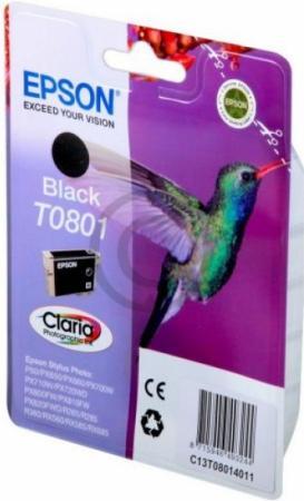Картридж EPSON C13T08014011 черный оригинальный