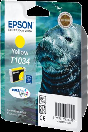 Картридж EPSON T10344A желтый оригинальный