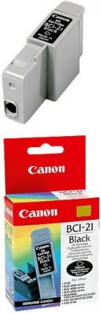 Картридж CANON BCI-21Bk оригинальный