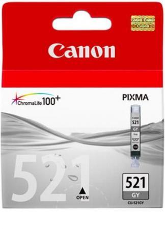 Картридж CANON CLI-521GY серый оригинальный