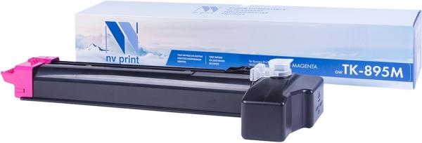 Картридж совместимый NVPrint TK-895 для Kyocera пурпурный