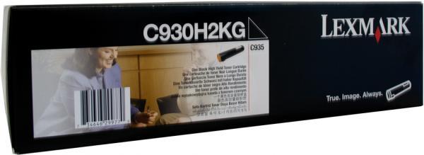 Картридж Lexmark C930H2KG черный оригинал