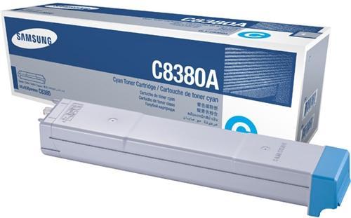 Картридж Samsung CLX-C8380A голубой оригинальный