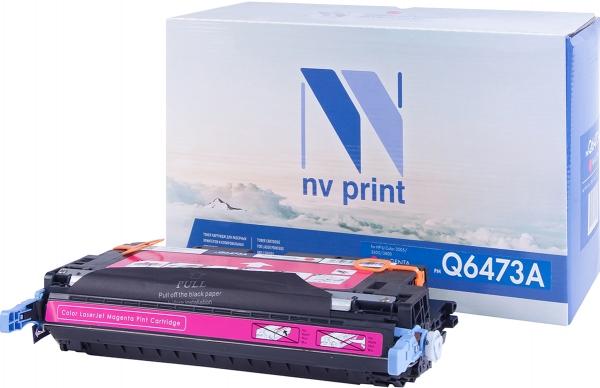Картридж совместимый NV Print Q6473A пурпурный для HP