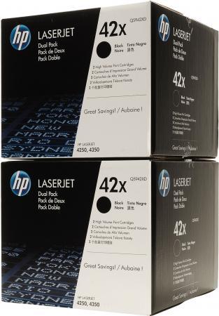 Картридж HP Q5942XD черный двойная упаковка оригинал