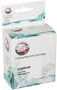 Картридж совместимый SuperFine LC569XLBk черный для BROTHER