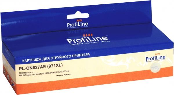 Картридж совместимый ProfiLine CN627AE №971XL для HP пурпурный