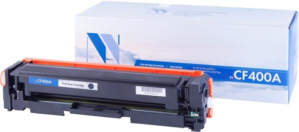 Картридж совместимый NVPrint CF400A для HP черный